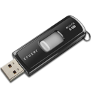 Sandisk Cruzer Micro 8GB Icon at 128 pixels